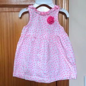 NWOT Carter's Matching Set Dress & Undies—9M 👶🏻